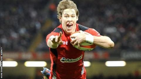 Scarlets full-back Liam Williams