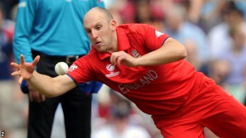 Kent and England off-spinner James Tredwell