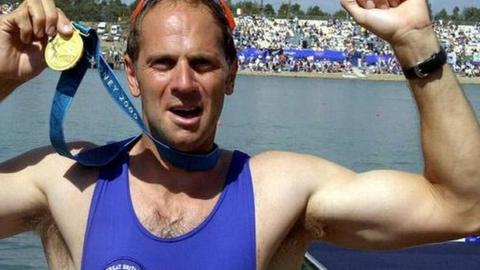 Steve Redgrave wins Gold Olympic Games in Sydney