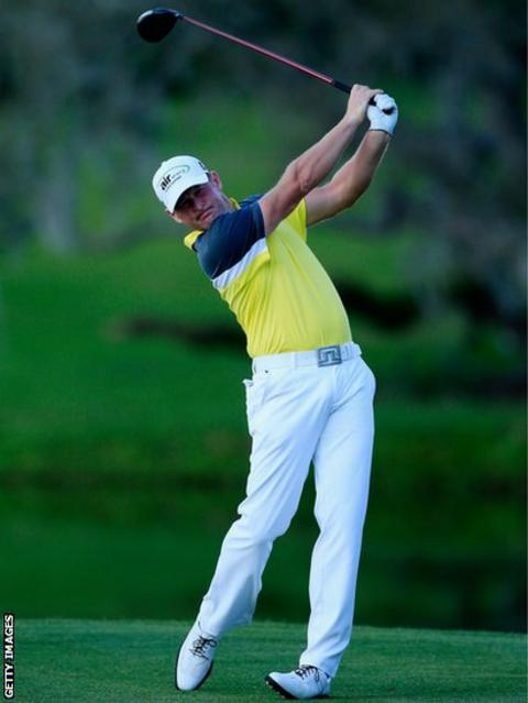 Jamie Donaldson lies joint third at the Arnold Palmer Invitational at Bay Hill, Orlando after the second round