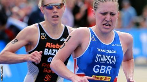 Britain's Jodie Stimpson in action