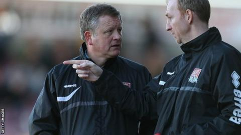 Chris Wilder, Alan Knill