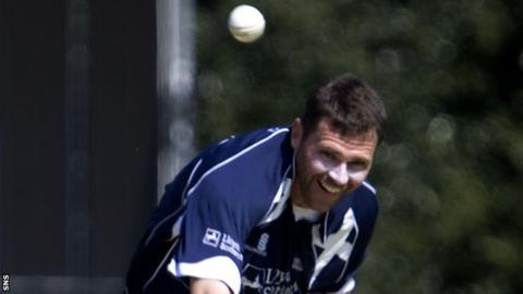Scotland's interim head coach Craig Wright