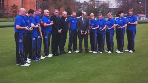 Scotland lawn bowls team