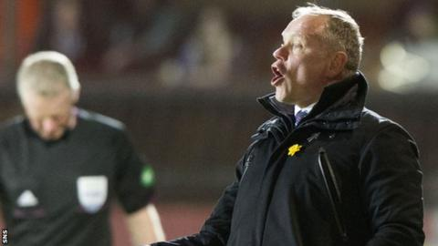 John Hughes felt Inverness' defeat to Dundee United was self-inflicted.