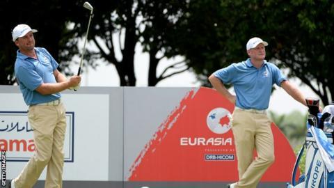 Graeme McDowell and Jamie Donaldson