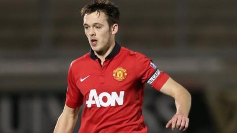 Tom Thorpe, Manchester United defender