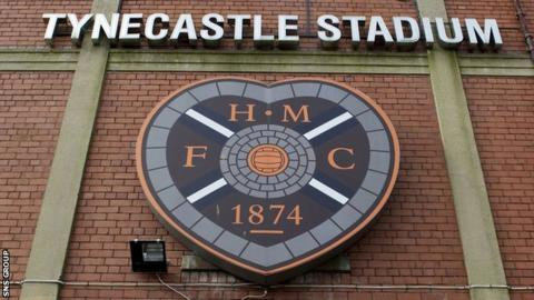 Hearts have been in administration all season