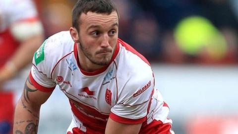 Josh Hodgson produced a man of the match display against Wakefield.