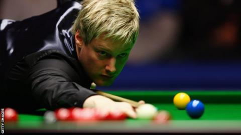 Australian snooker player Neil Robertson