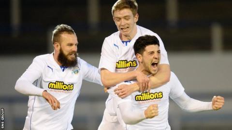 Morton were 3-0 winner at home to Dumbarton