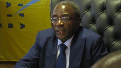 Zimbabwe Football Association chairman Cuthbert Dube