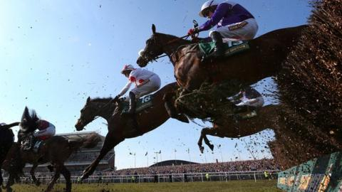 Grand National runners at Aintree