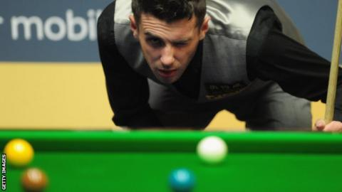 Snooker world number two Mark Selby