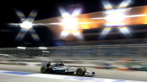 Bahrain Grand Prix: Mercedes dominate second practice amidst desert drama