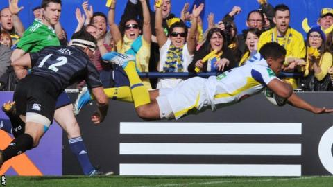 Wesley Fofana scores for Clermont