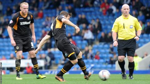 But Max Porter scored with seven minutes remaining to secure a point for Newport at the Proact Stadium.