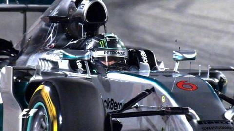 Bahrain Grand Prix qualifying highlights: Rosberg beats Hamilton to pole