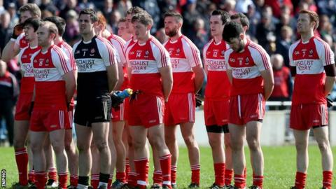 Derry paraded a largely second-string side against Mayo on Sunday at Castlebar