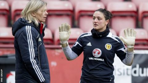 Gemma Fay in conversation with coach Anna Signuel