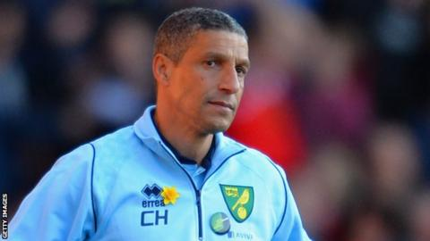 Chris Hughton, the former Norwich City manager