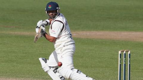 Lancashire batsman Ashwell Prince