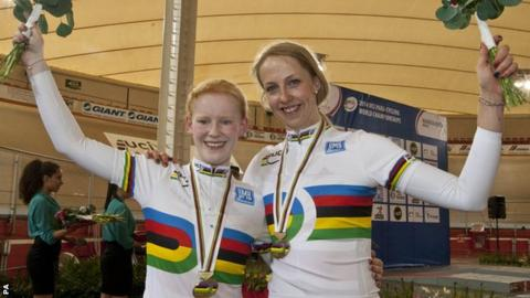 Sophie Thornhill and Rachel James