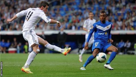 Real Madrid 4-0 Almería