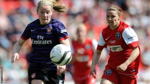 Women's FA Cup Final 2013 Arsenal vs Bristol