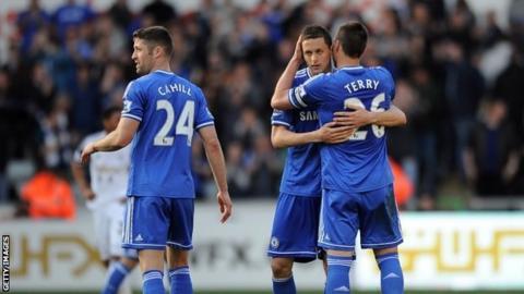 Chelsea celebrate