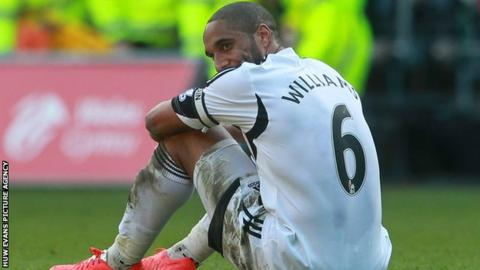Swansea Captain Ashley Williams