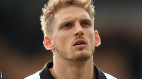 Port Vale defender Daniel Jones