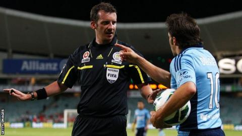 9512ee7d5ae Alessandro Del Piero. Referees in Australia s A-League will wear microphones  ...