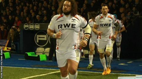 Ospreys Adam Jones