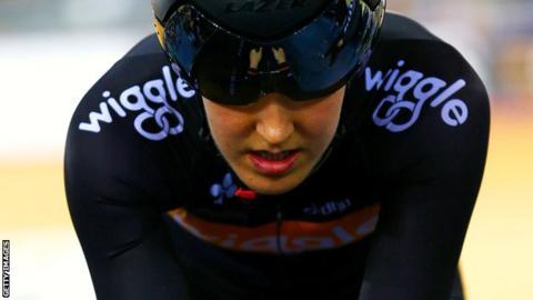 British cyclist Dani King