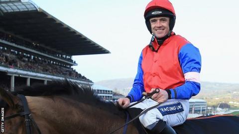 Jockey Ruby Walsh at Cheltenham