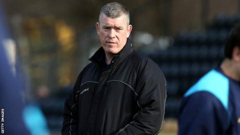Worcester Warriors director of rugby Dean Ryan