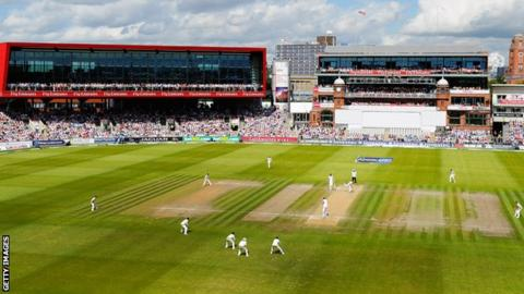 Old Trafford, home of Lancashire
