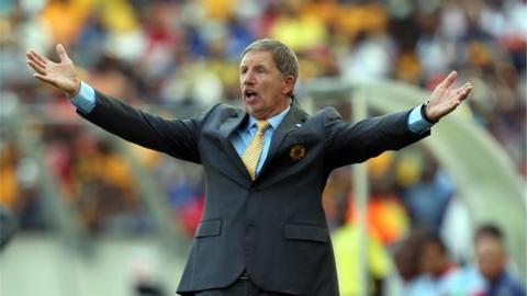 Kaizer Chiefs coach Stewart Baxter