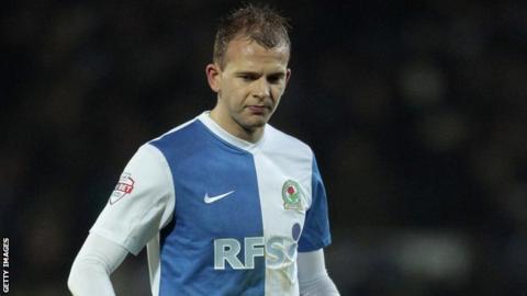 Jordan Rhodes of Blackburn