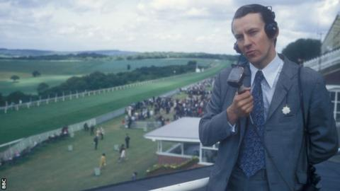 Julian Wilson presenting from Goodwood in 1971