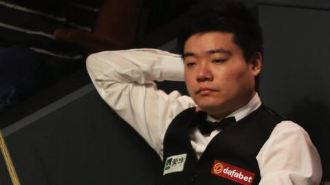 Ding Junhui defeated by debutant Wasley