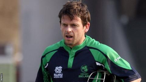 Ireland batsman Ed Joyce