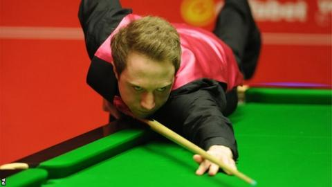 Michael Wasley against Ding Junhui at the Crucible