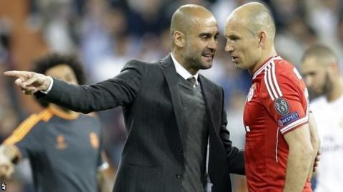 9437c67e4 Arjen Robben. Bayern Munich winger Arjen Robben was surprised by Real  Madrid s ...
