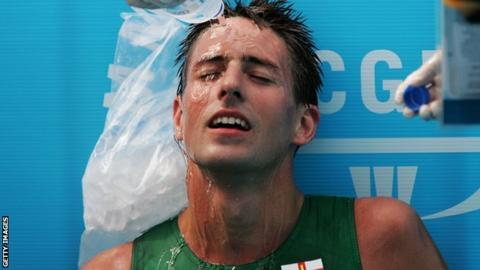 Ian le Pelley at the 2006 Commonwealth Games
