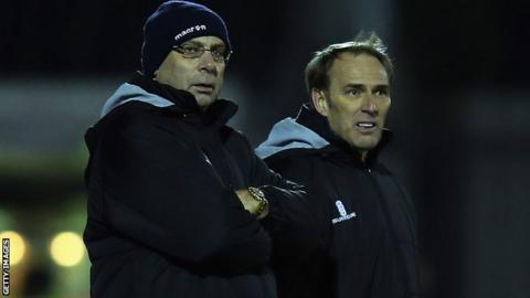 Garry Hill and Steve Thompson