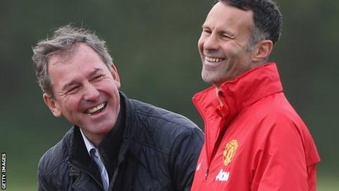 Bryan Robson and Ryan Giggs