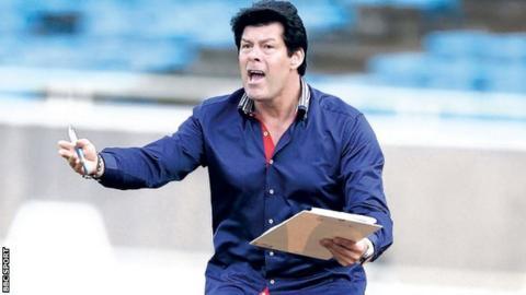 Rayon Sport coach Luc Eymael