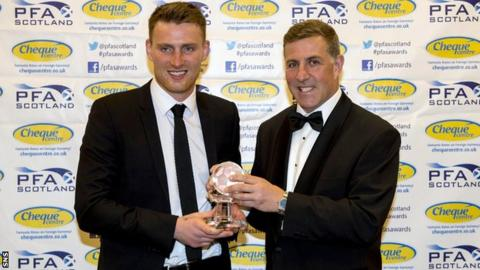 Rory McAllister and Mark McGhee